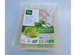250 gr LaEspiga BIO RAVIOLIS de trigo duro y relleno vegetal