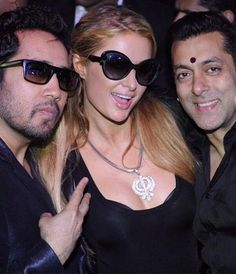Paris Hilton parties with 'friend' Salman Khan