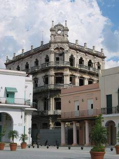 Palacio de Cueto, Plaza Vieja, Habana Vieja, Cuba