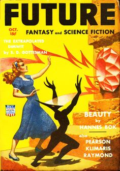 Hannes Bok, Future Fantasy and Science Fiction 42-10.