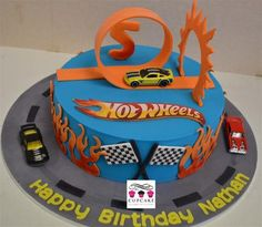 Hot Wheels | Cupcakes Auckland | Wedding cakes, birthday cakes, cupcakes