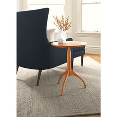 Adams Round End Table - Modern End Tables - Modern Living Room Furniture - Room & Board