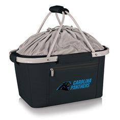 NFL Metro Basket- Black (Carolina Panthers) Digital Print