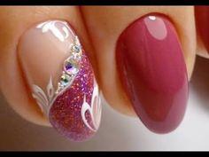 Top 10 New Nail Art Designs 2019 | The Best Nail Art Tutorials Compilation💓👍 #328 New Nail Art Design, Best Nail Art Designs, Cute Nails, Pretty Nails, Nail Polish Style, Spring Nail Art, Winter Nail Designs, Pedicure Nails, Beautiful Nail Art