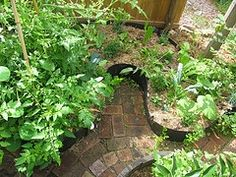 48 Best keyhole gardens images | Permaculture, Garden ...