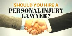 The Benefits of Hiring a Personal Injury Lawyer It is perplexing when it's barely 12 hours after your injury and you are already being barraged with requests for paperwork and questions from doctors, law enforcement, and insurance companies. Now, you're jumbled and overwhelmed by all the attention ...
