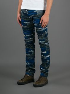 Kenzo Sky Print Skinny Jean - Twist'n'scout-paleari Online Store - Farfetch.com