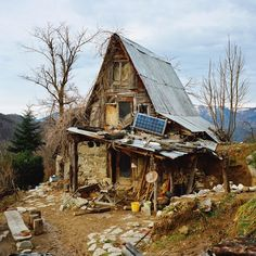 Tread Lightly Around the Rickety Homes of Wilderness Dwellers - Into the Wild - Curbed National