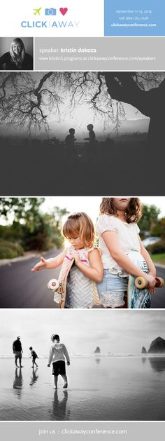 Photographer Kristin Dokoza will be speaking at Click Away 2014! #clickaway #photographyconference
