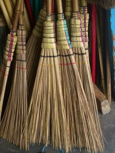 Broom to hang in the kitchen over the threshold, keep out unwanted, negative energy Soft Broom, A Broom, Broom Corn, Whisk Broom, Witch Broom, Brooms And Brushes, Jumping The Broom, Clean Sweep, Ideas