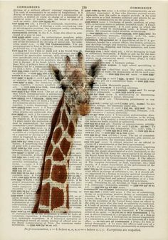 FauxKiss // Vintage Book Page