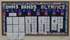 Band Olympics - maybe change this idea into ukulele Olympics for fifth grade curriculum
