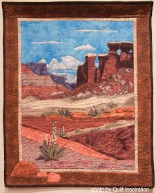 Here are more outstanding quilts from the the 43rd Annual Springville (Utah) Quilt Show! This juried exhibition features quilts of all style...