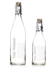 Racquel Youtzy (founder of tap water bottle) of Toronto, Canada designed this in response to the growing demand for safe refillable water bottles