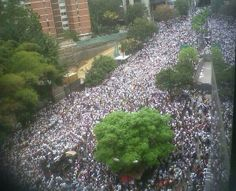 Chacaíto, Caracas, 18 de febrero de 2014