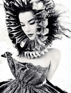 Bjork! I'm in total awe of everything she does. A true artist.