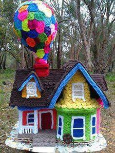 El follet teixidor amigurumis i altres cosetes crochet - Casitas del bosque ...