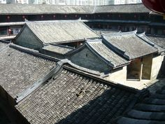 Heritage Hakka Toulou in Dapu. In Dapu it is not entire circular as in Hakka Homeland in Fujian.