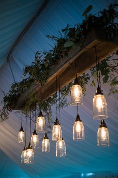 Midwest Wedding Ideas and Inspiration - Style Me Pretty Modern Lighting Design, Rustic Lighting, Room Lights, Ceiling Lights, Outdoor Patio Designs, Cool Tree Houses, Ceiling Light Design, Rustic Wood Walls, Art Of Living