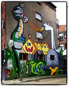 """#streetart #Rotterdam #holland"""