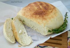 herbed bread.
