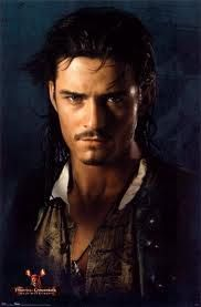 Will Turner from The Pirates of the Carribean (Orlando Bloom)