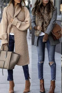Mode Outfits, Stylish Outfits, Fashion Outfits, Womens Fashion, Casual Winter Outfits, Fall Outfits, Look Urban Chic, Spring Outfit Women, Mode Kimono