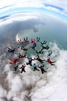 Skydiving..... Definitely!