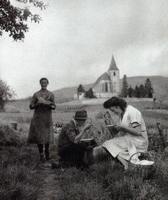 Village de Hunawihr Alsace - Photo Robert Doisneau