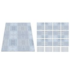 Little Nomad Play Mat - Silver Mist
