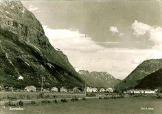 Møre og Romsdal fylke Sunndal kommune parti fra Sunndalen utg T. Osen 1950-tallet