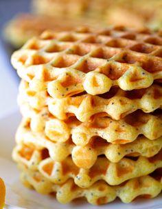 Lemon Poppyseed Waffles