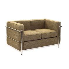 Modern Rectangle Love Seat | dotandbo.com
