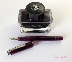 Review Pelikan M205 Classic Amethyst Fountain Pen @AppelboomLaren (13)