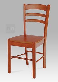 jídelní židle celodřevěná, třešeň AUC-004 TR2