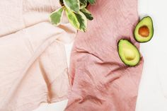 A Natural-Dye DIY for Pretty-in-Pink Kitchen Towels