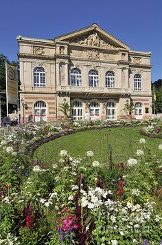 Theater Building In Baden-Baden, Germany