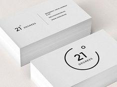 75 Minimal Business Cards Designs for Inspiration #BusinessCardMaker