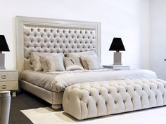 camas con cabecera capitone - Buscar con Google