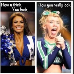 Dear cheerleaders around the world...
