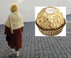 Il Ferrero Rocher può assumere strane forme e dimensioni