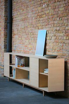 6 Kast von BPistorius Sidebaord Schrank Eiche Oak Lack cupboard Benjamin Pistorius Berlin