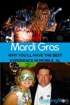 Mobile Alabama Mardi Gras is the original celebration. Find out why it's the best and whether or not it's safe for families to attend (hint: it is)! Mardi Gras, Travel With Kids, Family Travel, Travel Advice, Travel Tips, Mobile Alabama, Best Blogs, United States Travel, Travel Around The World