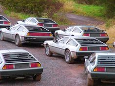 A brace of DeLoreans