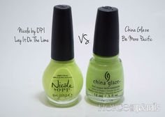 Fancy A Career Change Nicole By Opi, Career Change, China Glaze, Dupes, Fancy, Nails, Finger Nails, Ongles, Nail
