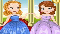 Em Sofia e Amber Festa da Primavera, a Princesinha Sofia e sua meia irmã a Princesa Amber vão à festa da Primavera. Elas precisam estar lindas e maravilhosas; para isso elas contam com os seus conhecimentos de moda e suas habilidades fashionistas para deixá-las ainda mais bonitas. Divirta-se com a Princesinha Sofia!