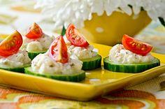 Crab-Cucumber Bites