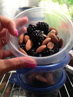 Berries & nuts!