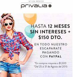PayPal: Promociones en varias tiendas online