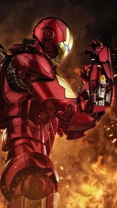 Best Of Iron Man Wallpaper For Iphone Photos Marvel Comic Universe, Marvel Art, Marvel Heroes, Marvel Avengers, Iron Man Hd Wallpaper, Avengers Wallpaper, Superhero Wallpaper Iphone, Wallpaper Earth, Image Pinterest